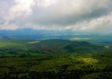 Landscape view of escarpment. Rift, valley, kenya, travel, africa, green, vegetation, plant, trees, healthy, grow, environment royalty free stock photo