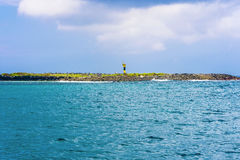 Landscape view at Espanola Island in Galapagos Stock Image