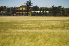 Landscape View of a Farmland. The Landscape View of a Farmland stock photo