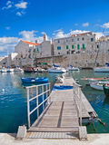 Landscape view of Giovinazzo. Apulia. Royalty Free Stock Photo