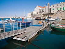 Landscape view of Giovinazzo. Apulia. stock photos