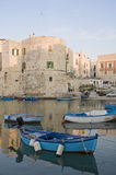 Landscape view of Giovinazzo. Apulia. Stock Photography