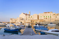 Landscape view of Giovinazzo. Apulia. Stock Images