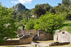 Landscape View of Glanum Stock Images