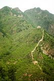 Landscape view of the great wall Royalty Free Stock Image