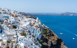 Landscape View of Greece during Day Time Royalty Free Stock Image