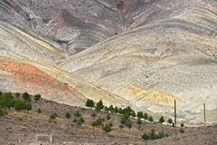 Landscape view of high Atlas Mountains, Morocco Royalty Free Stock Photo