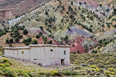 Landscape view of high Atlas Mountains, Morocco Stock Images