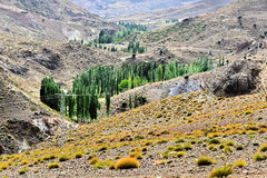 Landscape view of high Atlas Mountains, Morocco Royalty Free Stock Image
