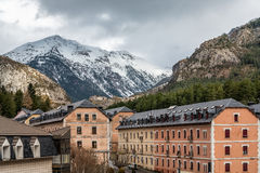 Landscape view in Jaca Royalty Free Stock Image