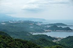 Landscape view from  Jiufen, Taipei, Taiwan