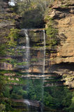 Landscape view of Katoomba Falls Blue Mountains New South Wales Royalty Free Stock Photos