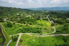 Landscape view from Khun Dan Prakarn Chon Dam in Nakhon Nayok, T Stock Images