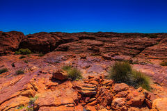 Landscape view at Kings Canyon, Australia Outback Stock Images