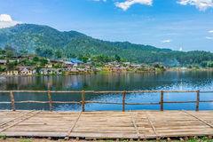 Landscape view of landmark of Rak Thai village Royalty Free Stock Image