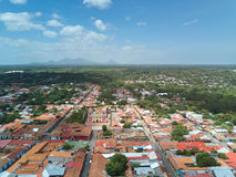 Landscape view of Leon town Royalty Free Stock Image