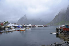Landscape view from lofoten Royalty Free Stock Photography