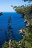 Landscape view Mallorca Stock Image