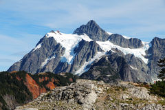 Landscape view of Mount Baker. Landscape view of Mount Bake in Washington state, USA Royalty Free Stock Photography