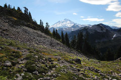 Landscape view of Mount Baker. Landscape view of Mount Bake in Washington state, USA Stock Image