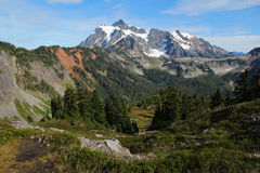 Landscape view of Mount Baker Stock Image