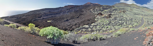 Landscape view near Fuencaliente (La Palma, Canary Islands) Royalty Free Stock Image