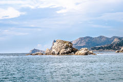 Landscape view in Noviy Svet in Crimea Royalty Free Stock Image