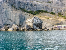 Landscape view in Noviy Svet in Crimea Royalty Free Stock Photo