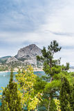 Landscape view in Noviy Svet in Crimea Stock Images