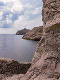 Landscape view in Noviy Svet in Crimea Stock Photography