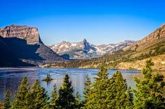 Free Landscape View Of Mountain Range In Glacier NP, Montana, USA Royalty Free Stock Photos - 44578628