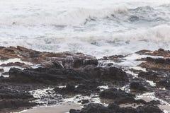 Landscape view on the Oregon coast Royalty Free Stock Image