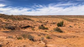 Landscape view of Page, Arizona, near Lower Antelope Canyon stock images