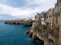Landscape view of Polignano. Apulia. royalty free stock photos