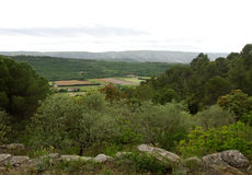 Landscape View of Provence Stock Images