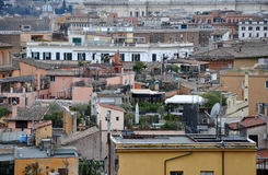 Landscape view of Rome Stock Image