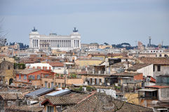 Landscape view of Rome Stock Photo