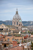 Landscape view of Rome Stock Photography