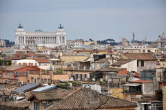 Landscape view of Rome Royalty Free Stock Photography