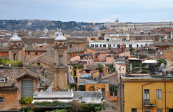 Landscape view of Rome Royalty Free Stock Photo