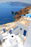 Landscape view in Santorini Stock Photos