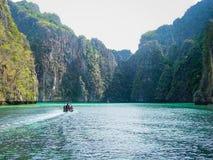 Landscape view of sea in Krabi,Thailand