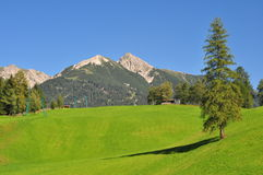 Landscape view of Seefeld Tirol Stock Image