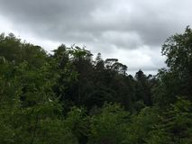 Landscape View In Sintra, Portugal. Royalty Free Stock Images