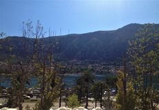 Scenic view from Kotor walls royalty free stock photos
