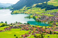 Landscape view in Switzerland Royalty Free Stock Photo