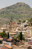 Landscape view taormina sicily Royalty Free Stock Images