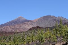 Teide mountain, Tenerife Stock Image