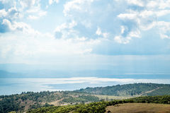 Landscape view to the Sea of Marmara in Turkey Stock Photo