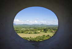Landscape view from Trinidad Cuba. Colorfull Landscape view from Trinidad Cuba Stock Images
